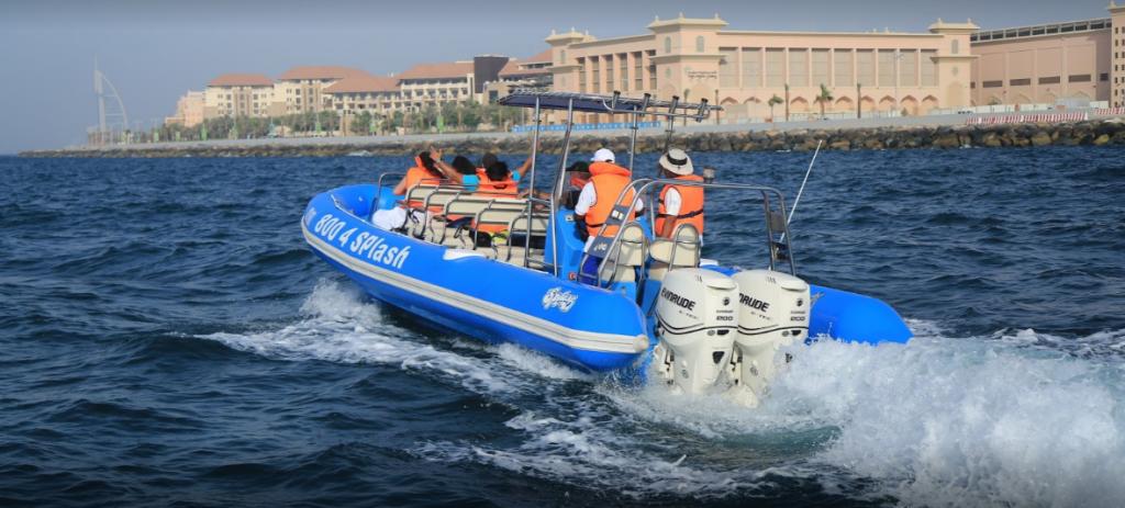 Dubai Speedboat Tour