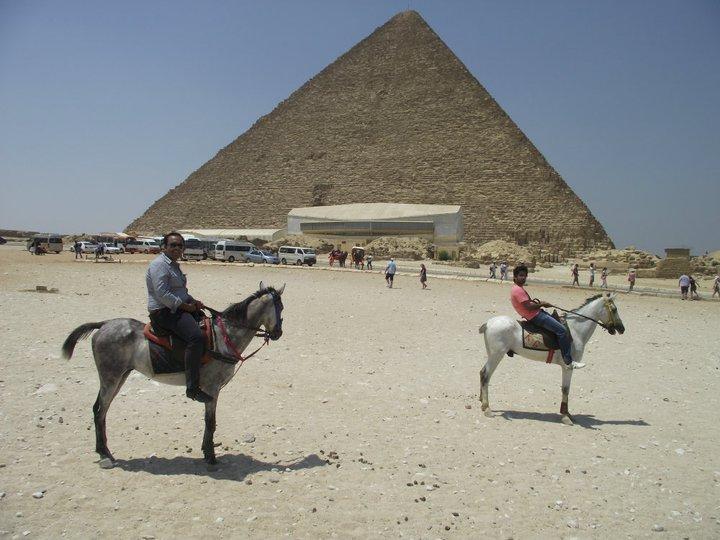 Aamir Iqbal in Egypt